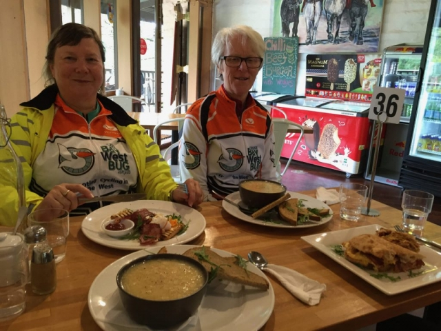 Lunch at the Copper Kettle, Eltham