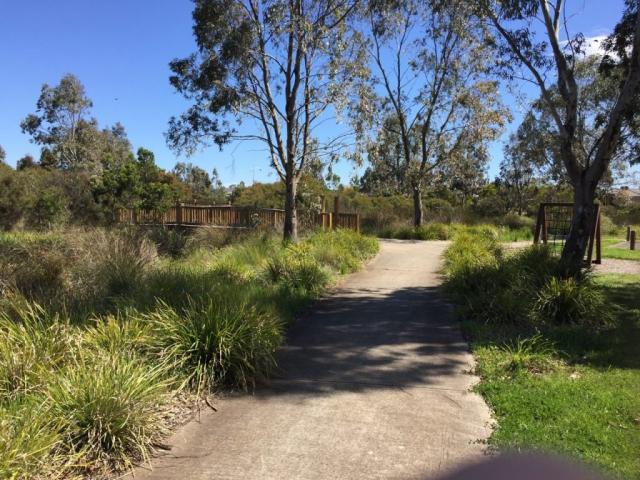 Tarneit Wetlands on the Hoppers Crossing loop.