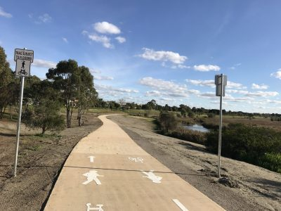 Skeleton Creek Trail Upgrade Completed